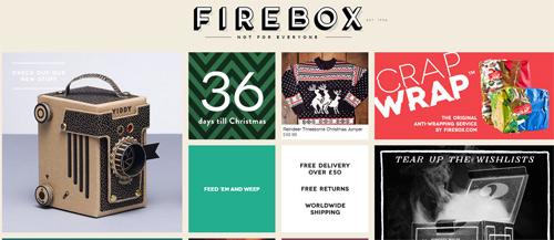 Firebox website