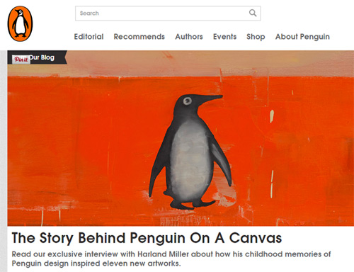 Penguin Books website
