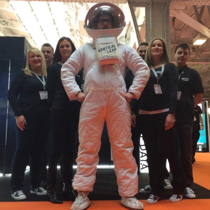 Astronaut team photo