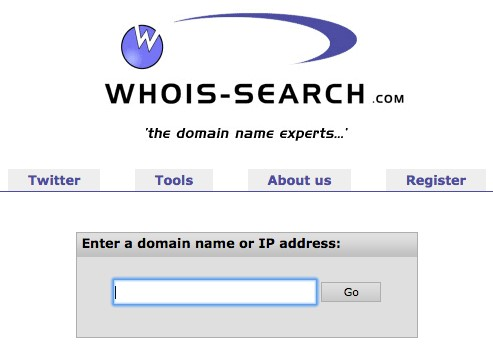 WhoIs-Search.com screenshot