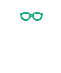 Conversion rates increased by 300%