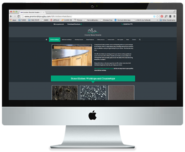 The County Stone Granite website