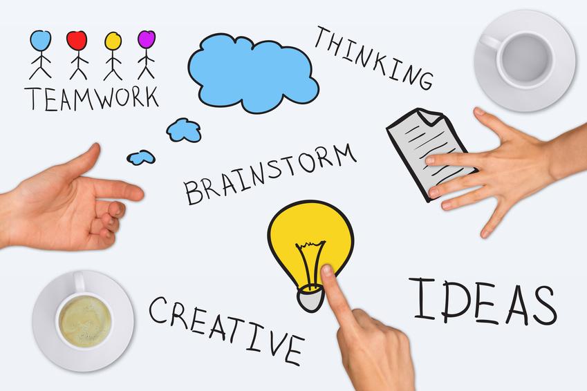 Social media brainstorming
