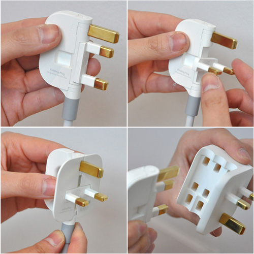 Folding plug - a perfect blend of design and functionality