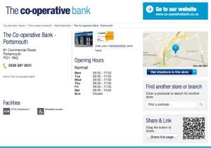 co-op bank website