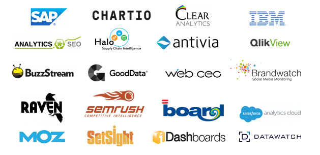 Big data dashboard companies