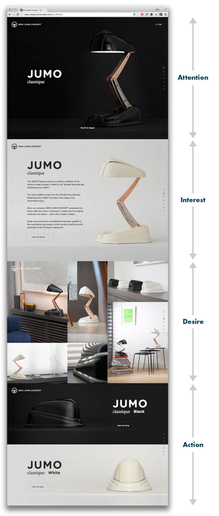 Jumo home page