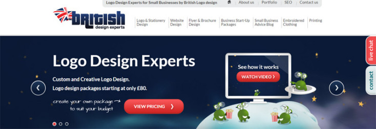 British Logo Design home page