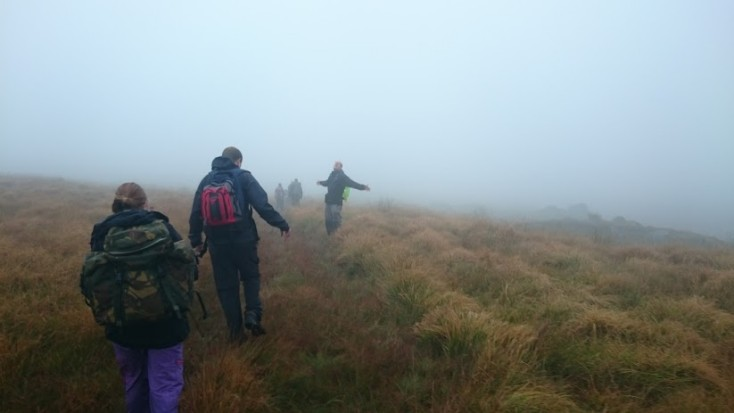 Vertical Leap on Dartmoor