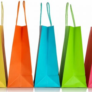 Shopping bags for Black Friday post