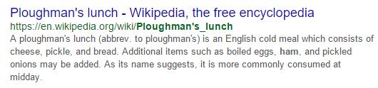 Long meta description Wikipedia entry