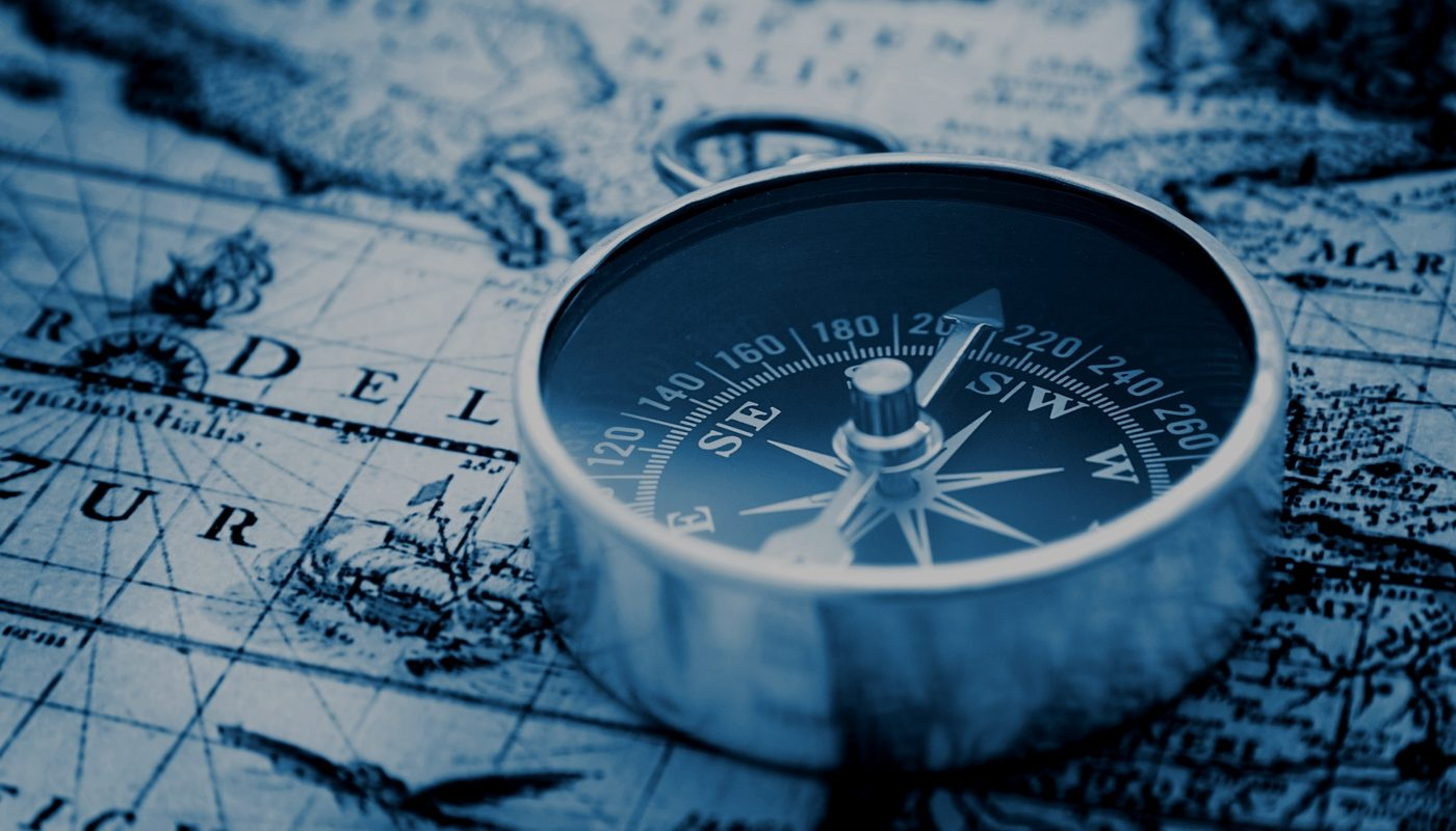 compass and map for Google local searches