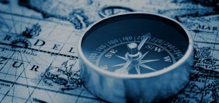 compass and map for Google local seo UK