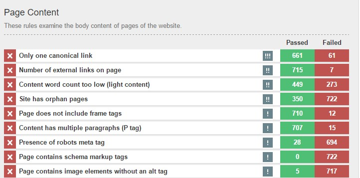 Apollo Insights - Improving thin content pages