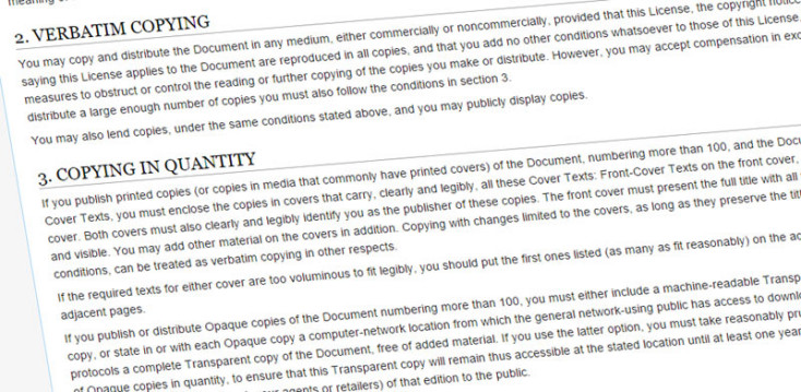 Wikipedia copying guide