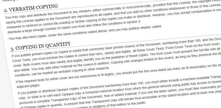 Wikipedia copying guide