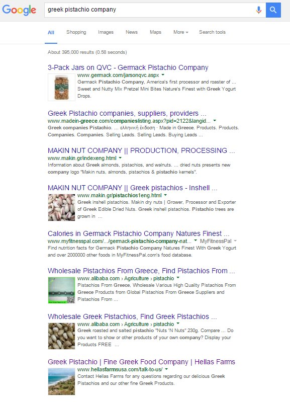 images in google serps - longer form results example