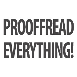 Prooffread everything