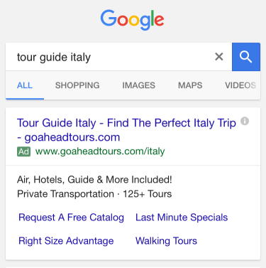 google-green-ad-label