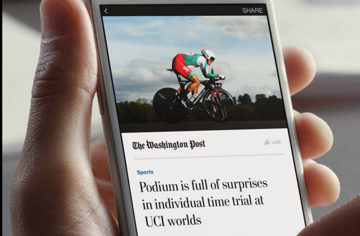 Facebook Instant Articles now load in the app, not the publisher's website