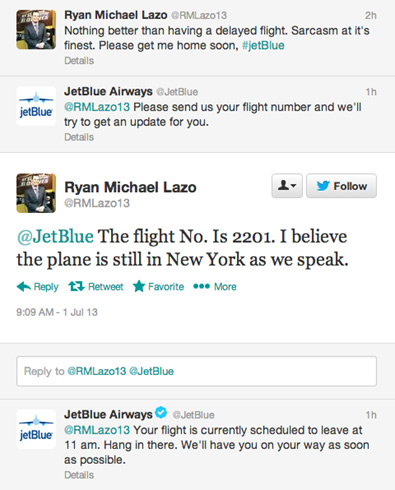 JetBlue customer service