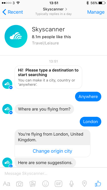 The Best Travel Chatbots We've Seen so Far – Vertical Leap