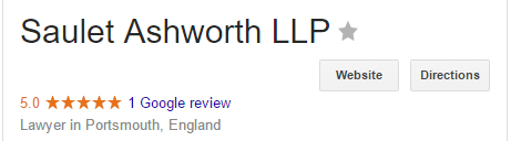 Saulet Ashworth Google review