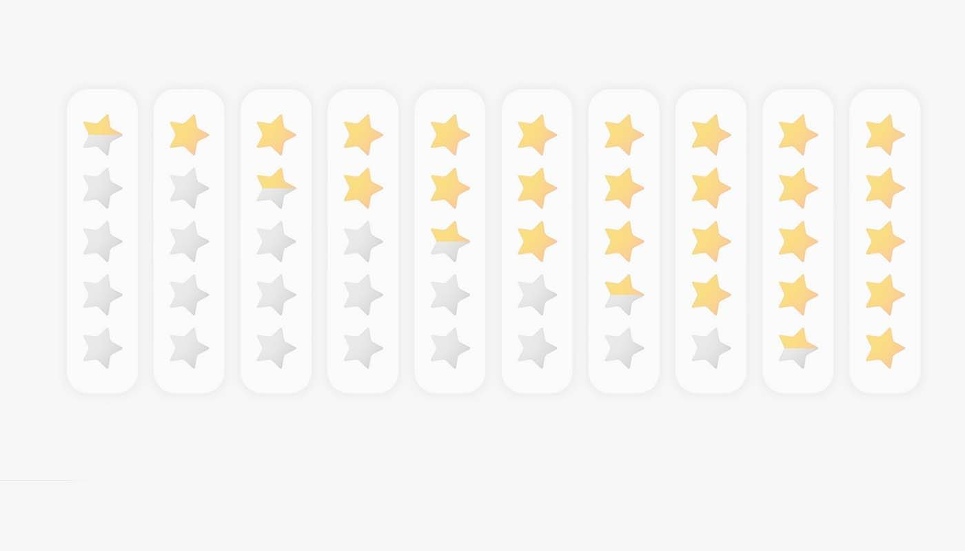 Google star ratings