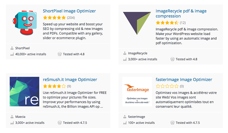 WordPress plugins for SEO image optimisation