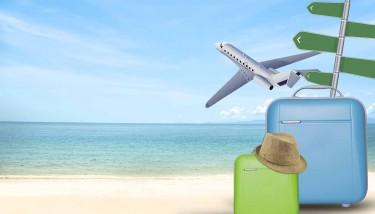 suitcases-on-beach