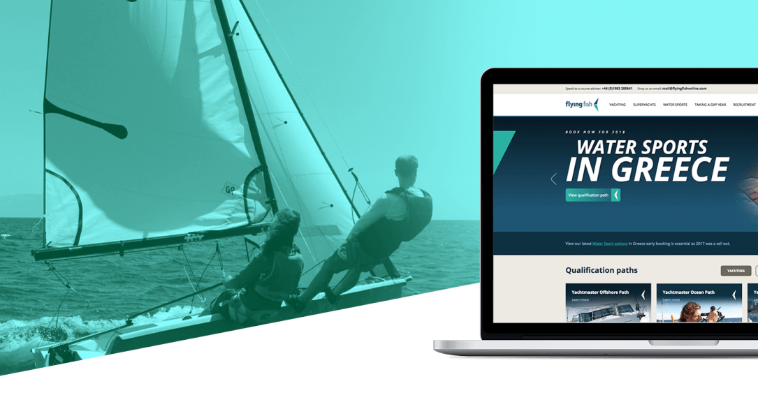 Flying Fish Digital Marketing and Web Design Case Study Hero