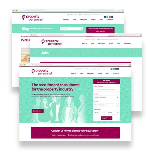 Property Personnel Websites - Vertical Leap Case Study