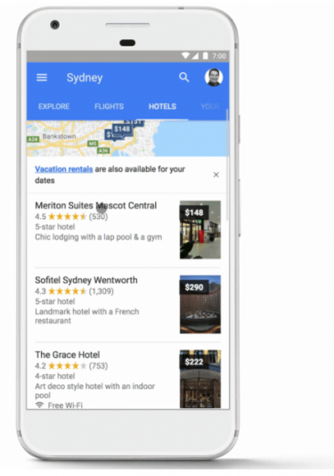 Hotels in Sydney on Google