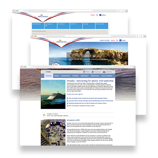 P&O Case Study - SEO services from Vertical Leap