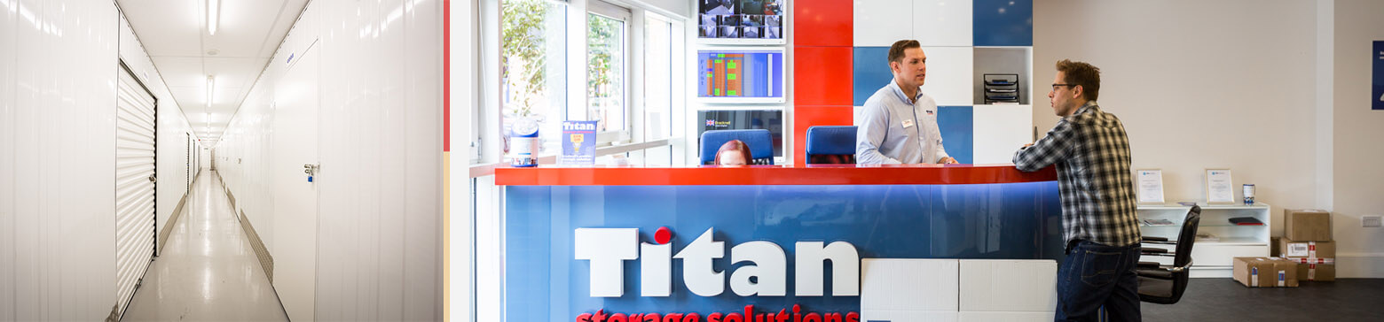 Titan Storage Gmail Advertising PPC Case Study - interior of Titan Storage