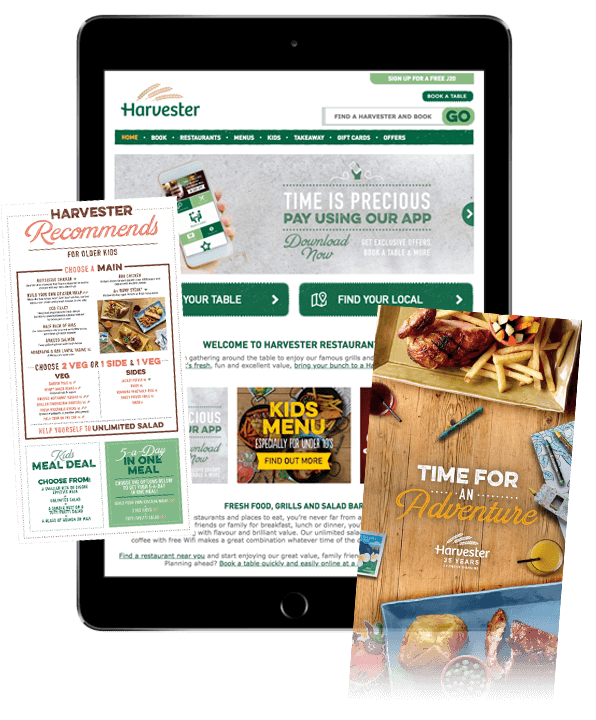 Our SEO client Harvester