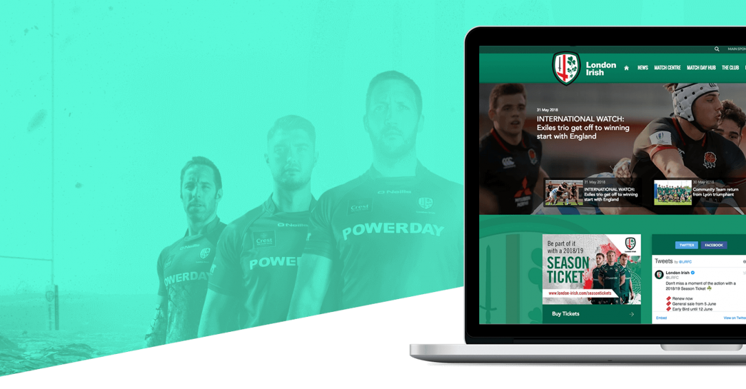 Facebook Advertising Case Study - London Irish