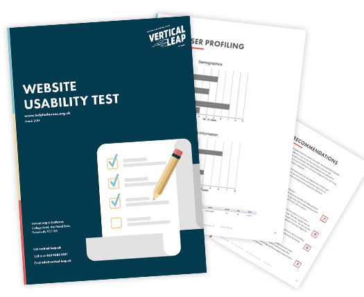 Usability testing with Help for Heroes