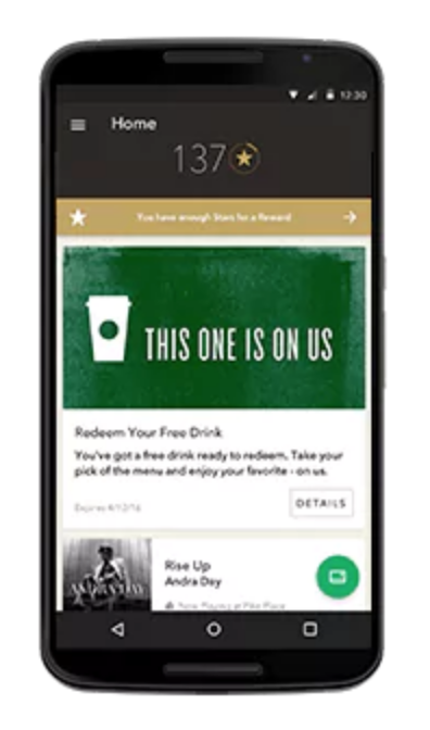 Starbucks works across multiple marketing channels
