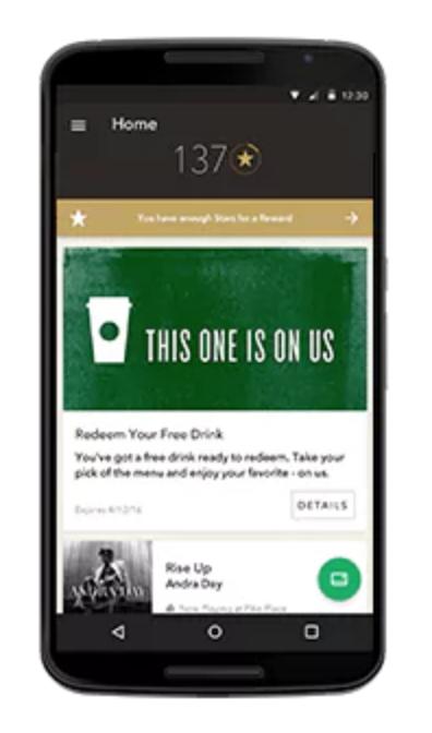 Starbucks works across multiple marketing channels