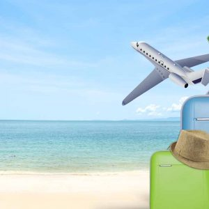 Suitcases on a beach SEMINAR: The future of travel search marketing