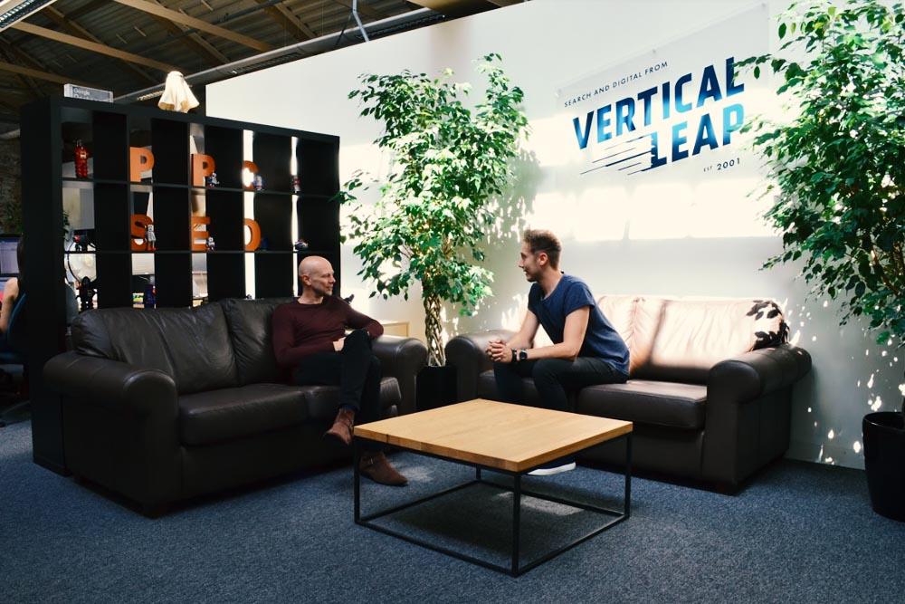 Vertical Leap reception