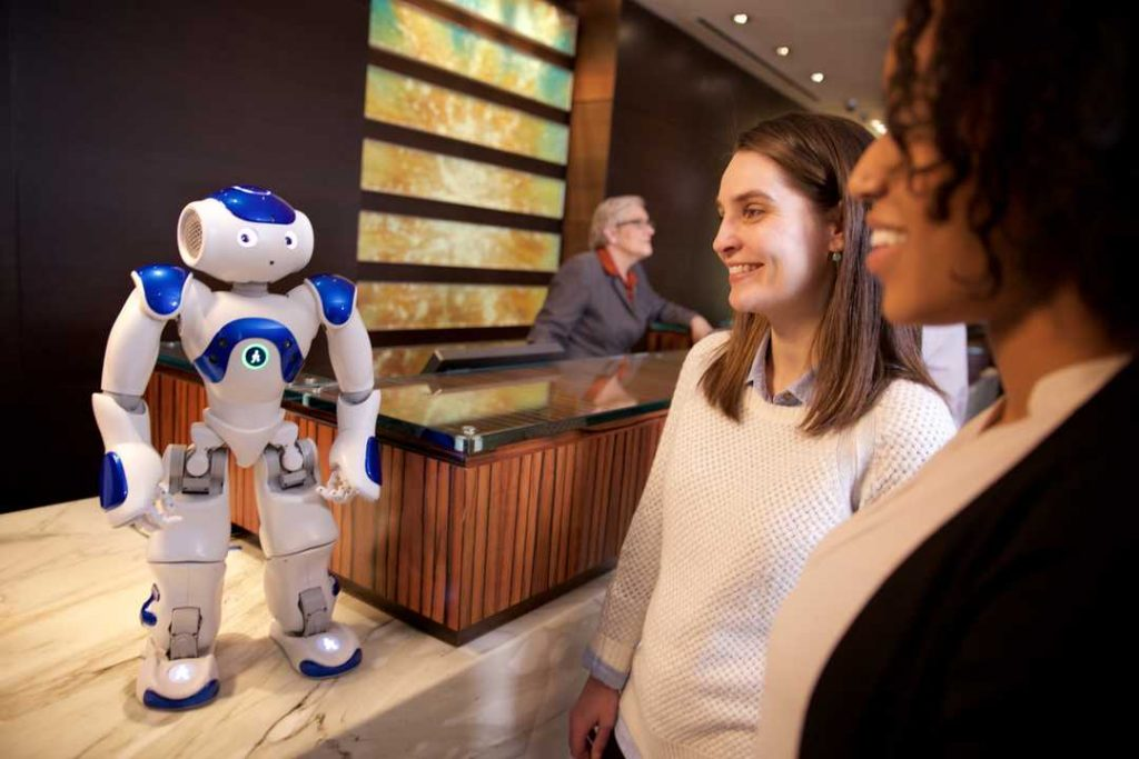 Hilton Worldwide's robot concierge