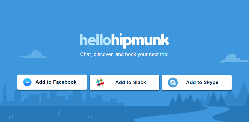 hellohipmunk screenshot