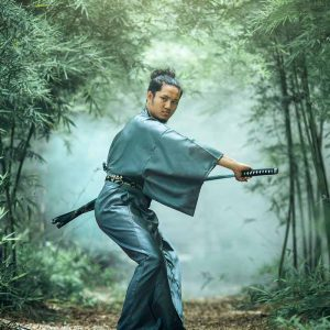 A samurai to illustrate the blog How SMBs can use machine learning to kick ass