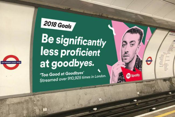 Spotify Tube ads