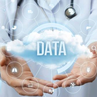 Data cloud image to illustrate Data science for marketers (part 3): Predictive vs prescriptive analytics