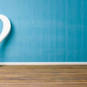 Question mark denoting FAQs about content marketing