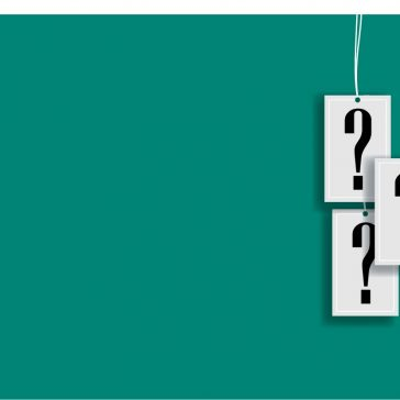 Bing green background with question marks