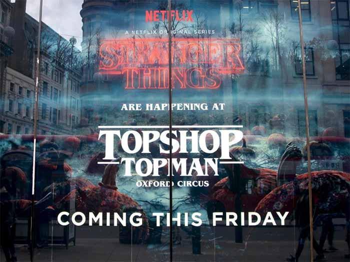Topshop Halloween campaign